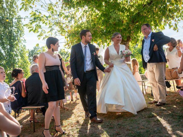 Le mariage de Matthieu et Anne-Laure à Monflanquin, Lot-et-Garonne 32
