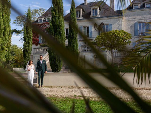Le mariage de Jean-Baptiste et Manon à Campsegret, Dordogne 11