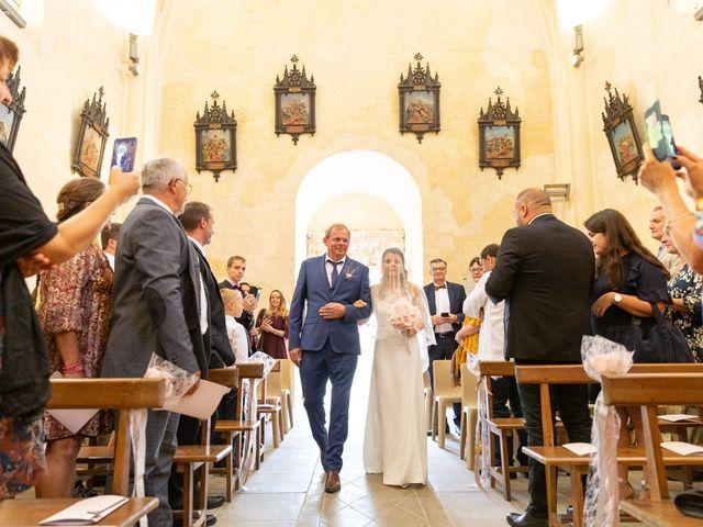 Le mariage de Jean-Baptiste et Manon à Campsegret, Dordogne 12