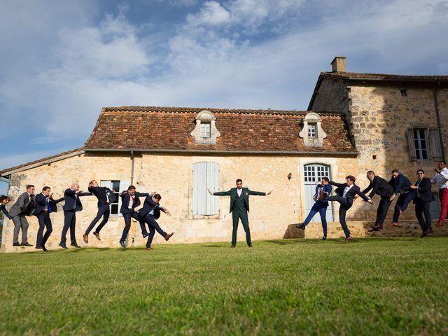 Le mariage de Jean-Baptiste et Manon à Campsegret, Dordogne 14