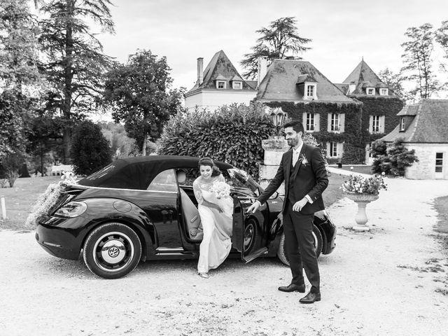 Le mariage de Jean-Baptiste et Manon à Campsegret, Dordogne 15