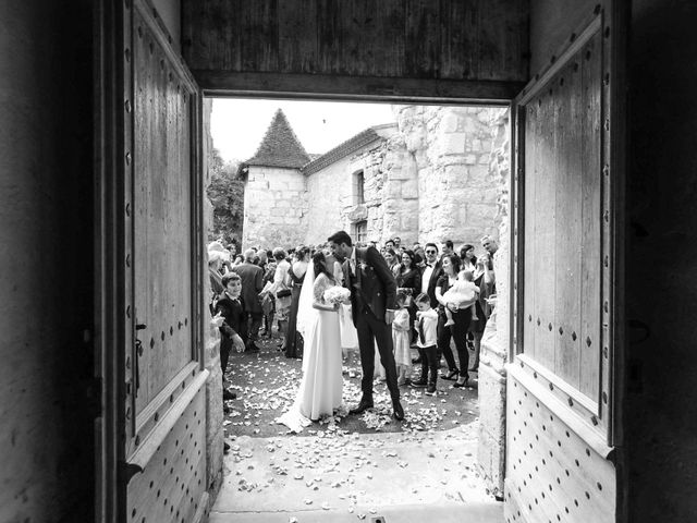 Le mariage de Jean-Baptiste et Manon à Campsegret, Dordogne 36