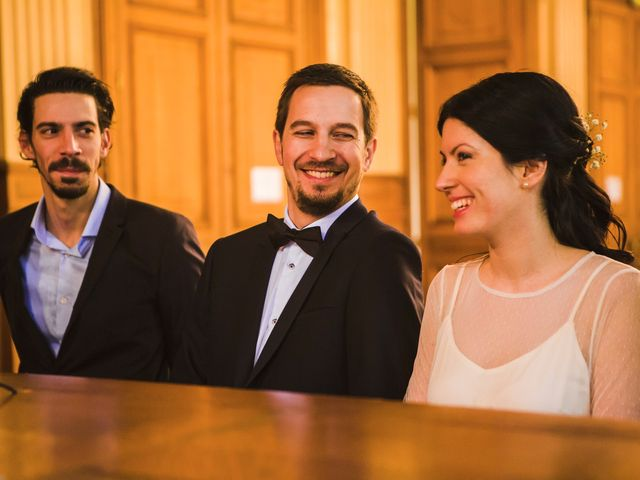 Le mariage de Guillaume et Zoe à Paris, Paris 16