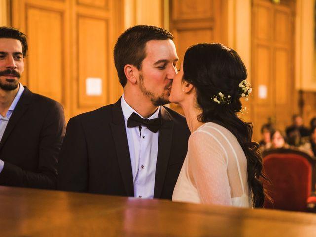 Le mariage de Guillaume et Zoe à Paris, Paris 17