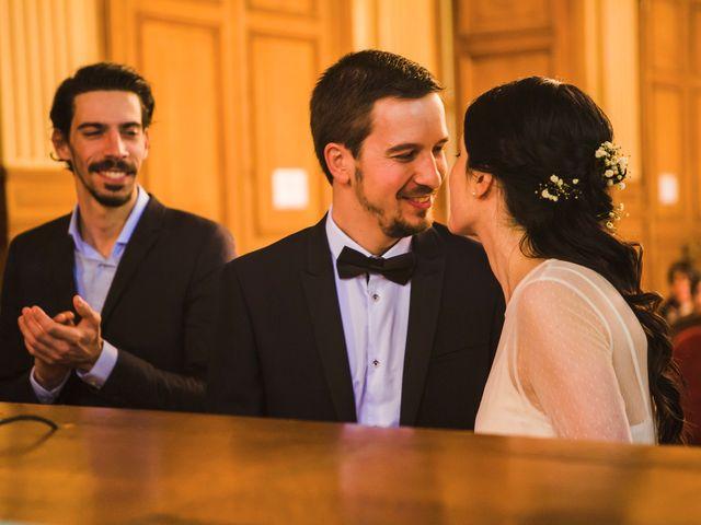 Le mariage de Guillaume et Zoe à Paris, Paris 18