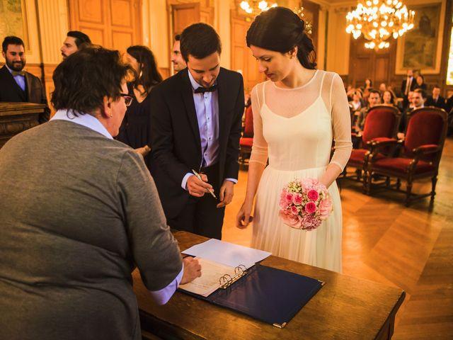 Le mariage de Guillaume et Zoe à Paris, Paris 19