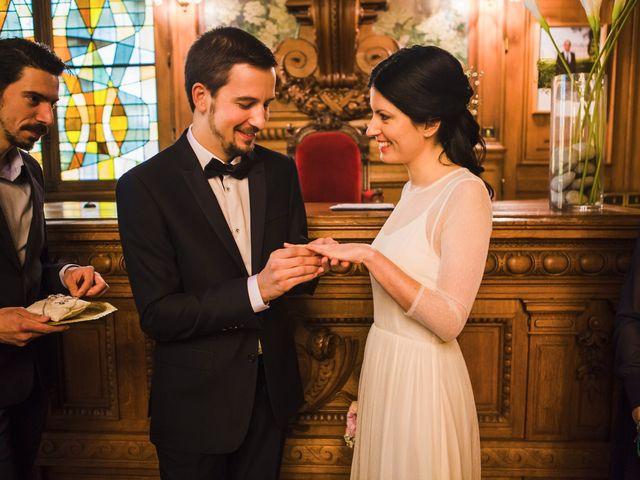 Le mariage de Guillaume et Zoe à Paris, Paris 20
