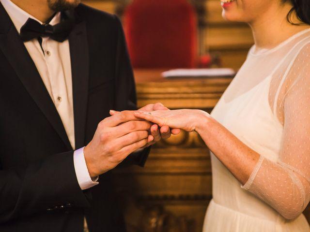 Le mariage de Guillaume et Zoe à Paris, Paris 21
