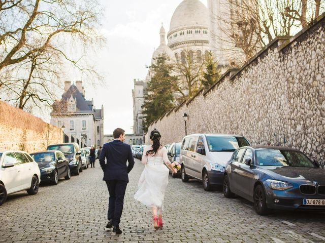 Le mariage de Guillaume et Zoe à Paris, Paris 74