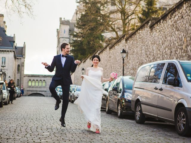 Le mariage de Guillaume et Zoe à Paris, Paris 75