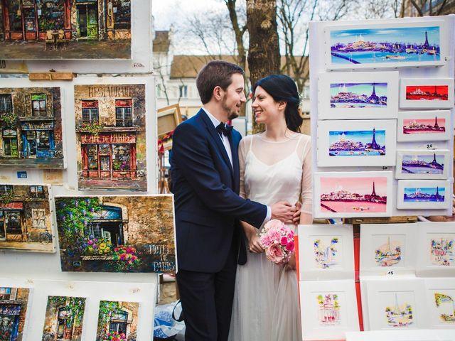 Le mariage de Guillaume et Zoe à Paris, Paris 92