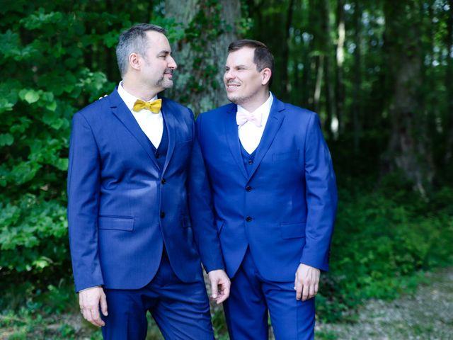 Le mariage de David et Eric