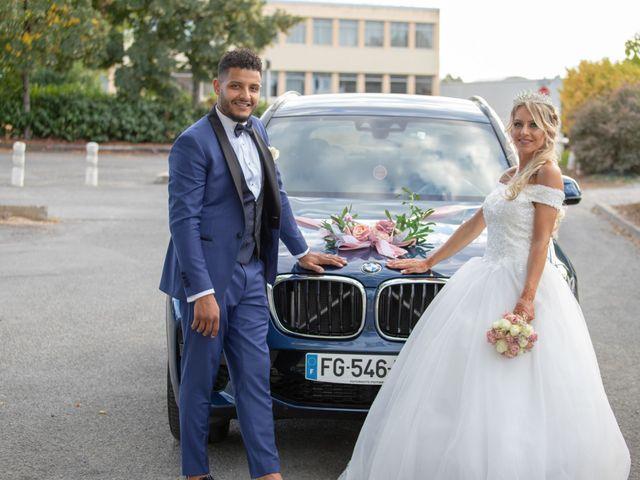 Le mariage de Morad et Gaelle à Poitiers, Vienne 54