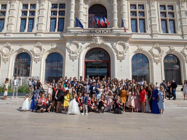 Le mariage de Morad et Gaelle à Poitiers, Vienne 82