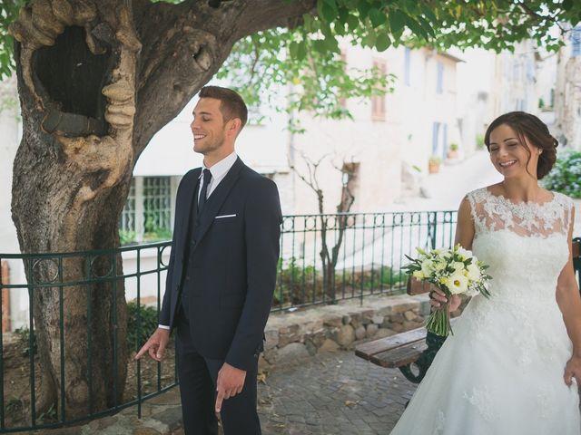 Le mariage de Julien et Floriane à La Garde, Var 12