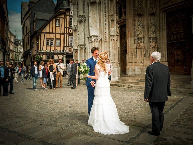 Le mariage de Jean-Christophe et Marie-Charlotte à Rouen, Seine-Maritime 2