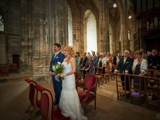 Le mariage de Jean-Christophe et Marie-Charlotte à Rouen, Seine-Maritime 13