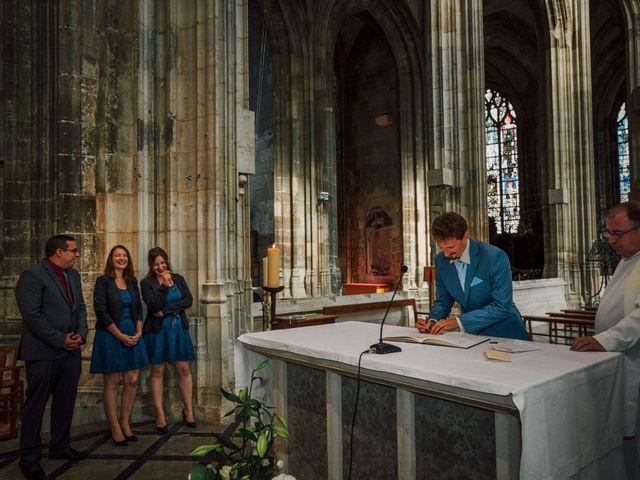 Le mariage de Jean-Christophe et Marie-Charlotte à Rouen, Seine-Maritime 35