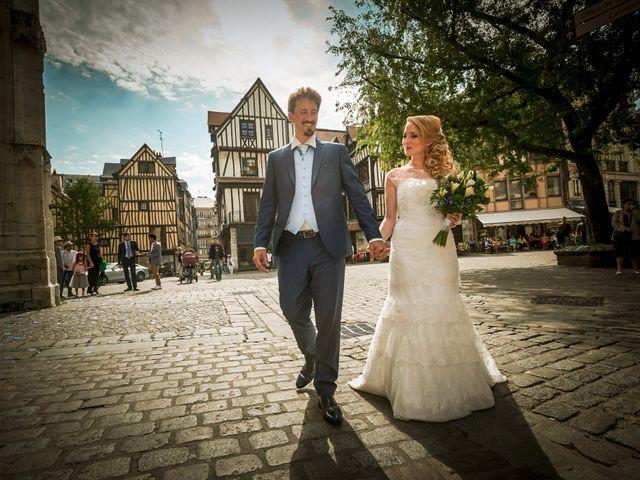 Le mariage de Jean-Christophe et Marie-Charlotte à Rouen, Seine-Maritime 54
