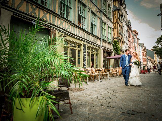 Le mariage de Jean-Christophe et Marie-Charlotte à Rouen, Seine-Maritime 55