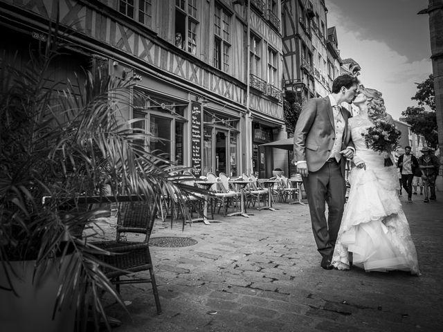 Le mariage de Jean-Christophe et Marie-Charlotte à Rouen, Seine-Maritime 56