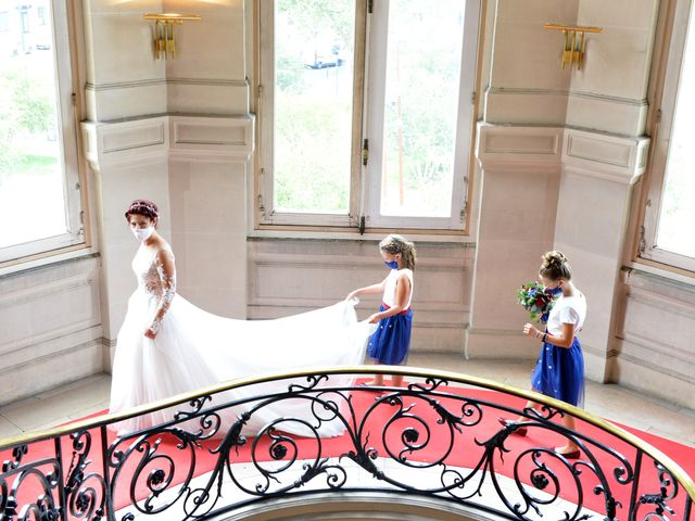 Le mariage de David et Cécile à Vic-sur-Aisne, Aisne 26