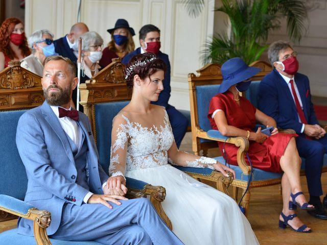 Le mariage de David et Cécile à Vic-sur-Aisne, Aisne 42
