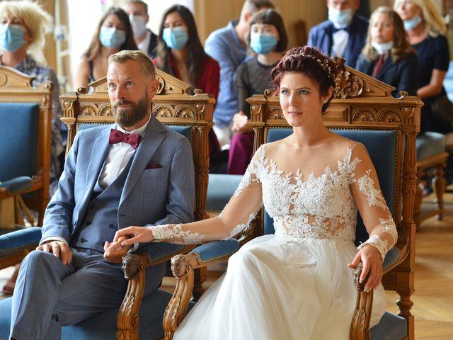 Le mariage de David et Cécile à Vic-sur-Aisne, Aisne 48