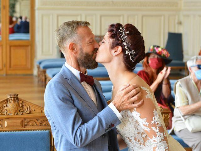 Le mariage de David et Cécile à Vic-sur-Aisne, Aisne 50
