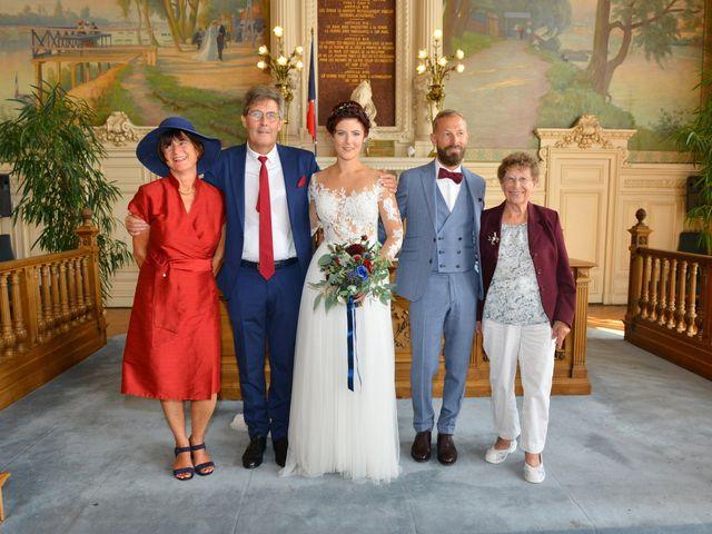 Le mariage de David et Cécile à Vic-sur-Aisne, Aisne 55