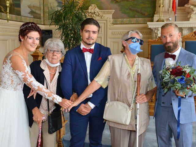 Le mariage de David et Cécile à Vic-sur-Aisne, Aisne 57
