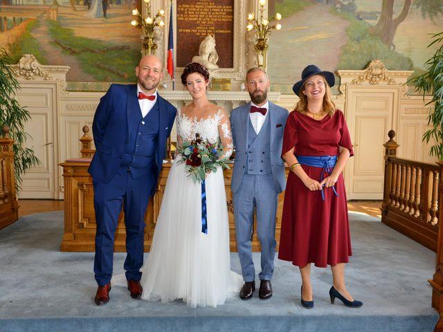 Le mariage de David et Cécile à Vic-sur-Aisne, Aisne 59