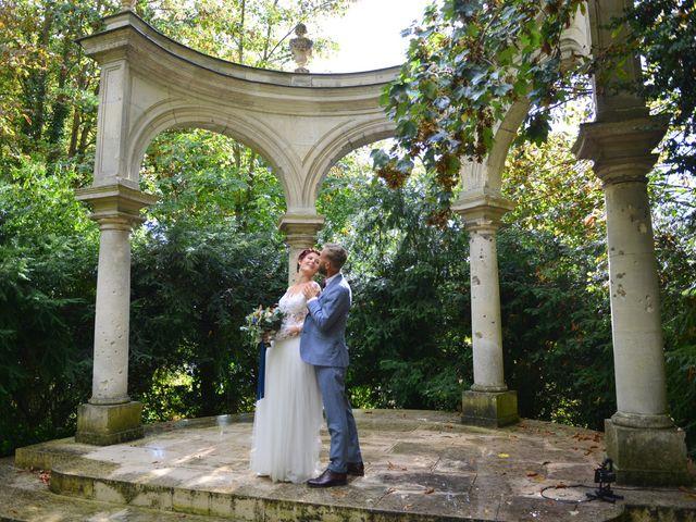 Le mariage de David et Cécile à Vic-sur-Aisne, Aisne 78