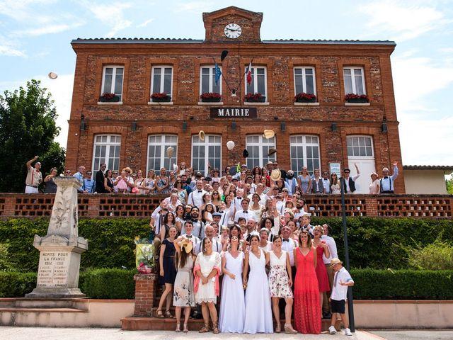 Le mariage de Maryline et Christelle à Montrabé, Haute-Garonne 32