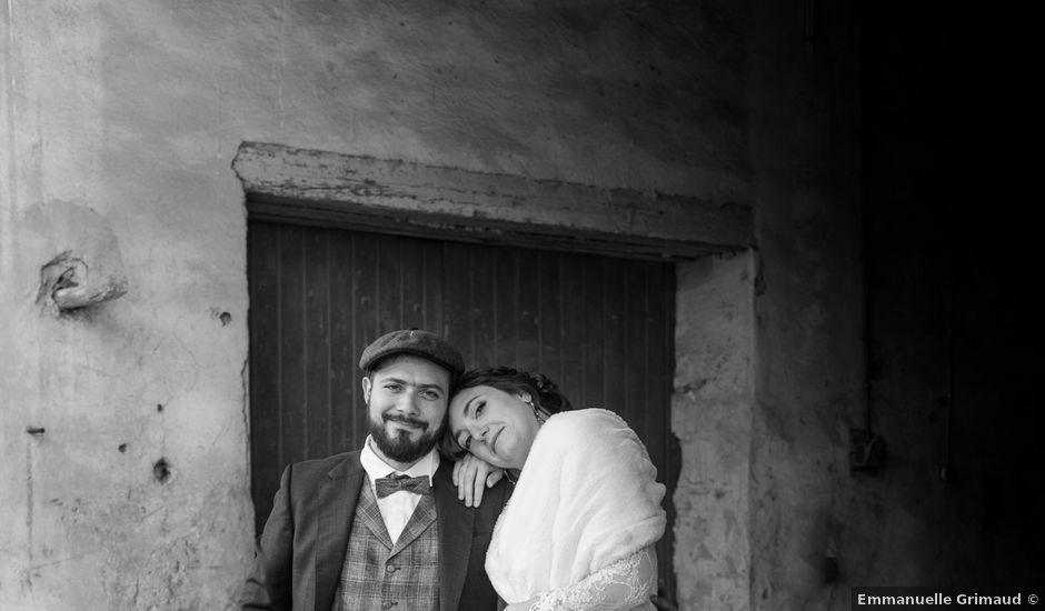Le mariage de David et Hélène à Quissac, Gard