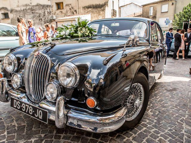 Le mariage de Julien et Morgane à Servian, Hérault 2