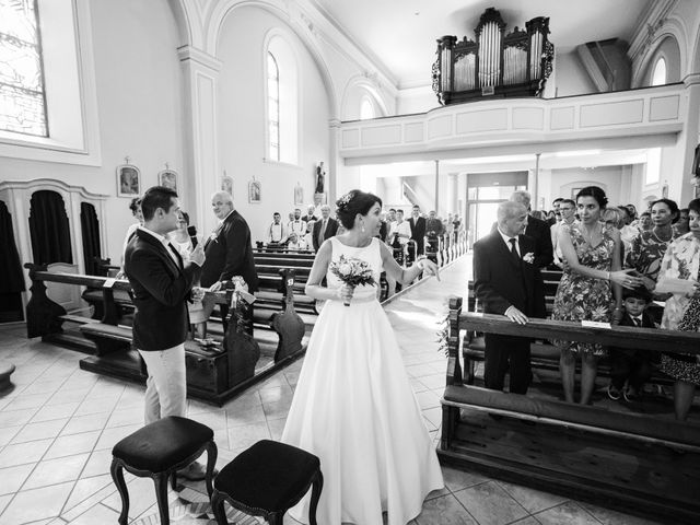 Le mariage de Sébastien et Anne-Sophie à Baldersheim, Haut Rhin 5