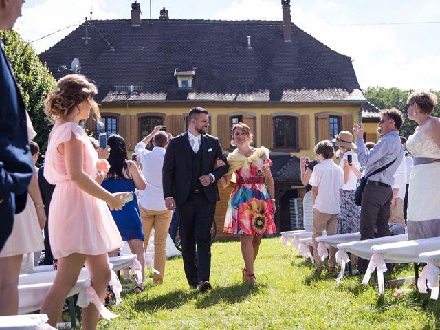 Le mariage de Jérémy et Julie à Oberhaslach, Bas Rhin 18