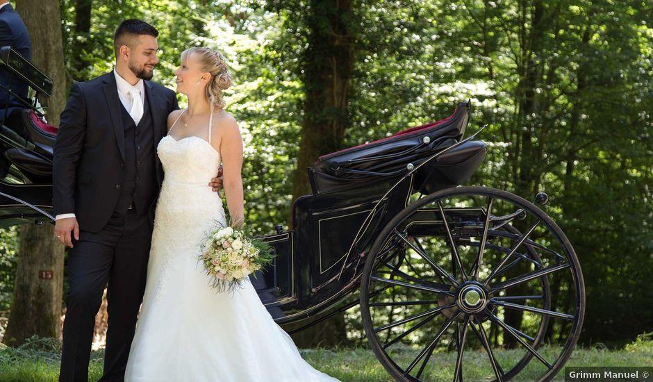 Le mariage de Jérémy et Julie à Oberhaslach, Bas Rhin