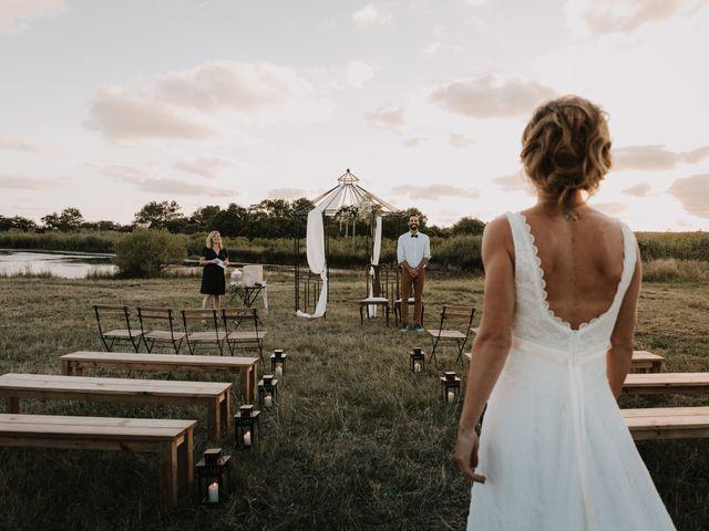 Le mariage de Liam et Mariah à Arès, Gironde 15