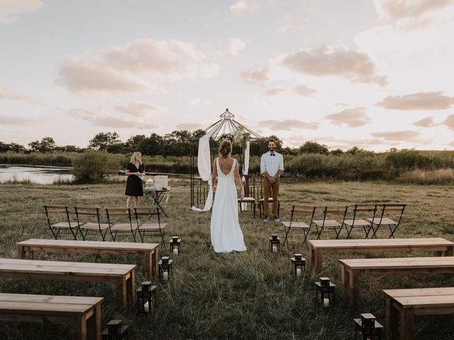 Le mariage de Liam et Mariah à Arès, Gironde 17