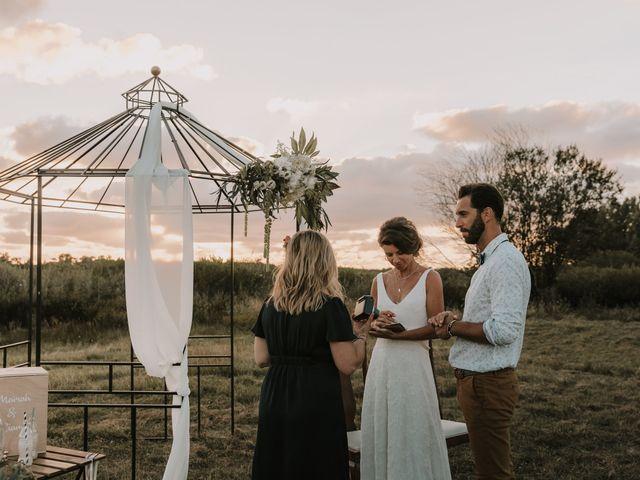 Le mariage de Liam et Mariah à Arès, Gironde 20
