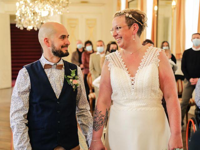 Le mariage de Julien et Coralie à Hazebrouck, Nord 59