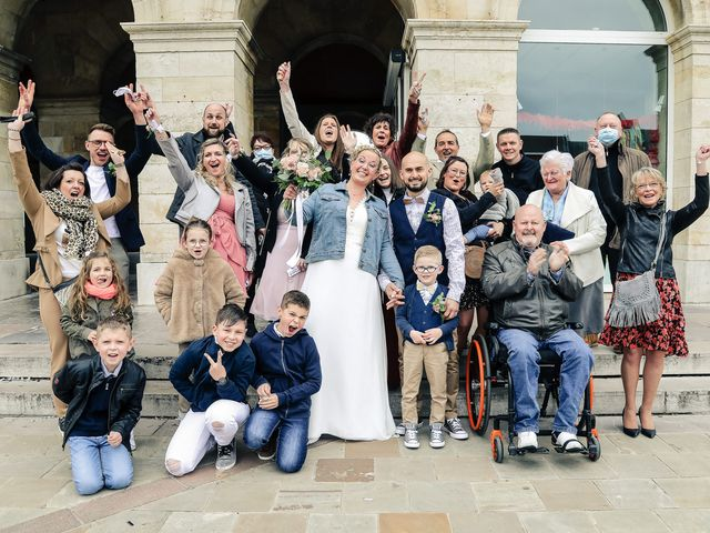 Le mariage de Julien et Coralie à Hazebrouck, Nord 73