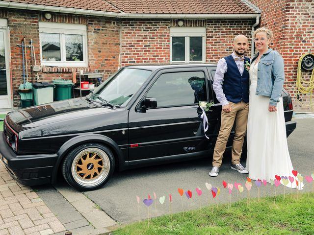 Le mariage de Julien et Coralie à Hazebrouck, Nord 105