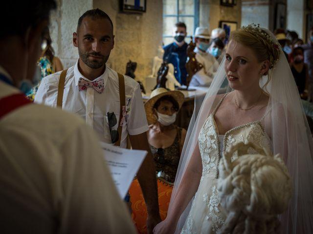 Le mariage de Will et Nina à Saint-Antonin-Noble-Val, Tarn-et-Garonne 14