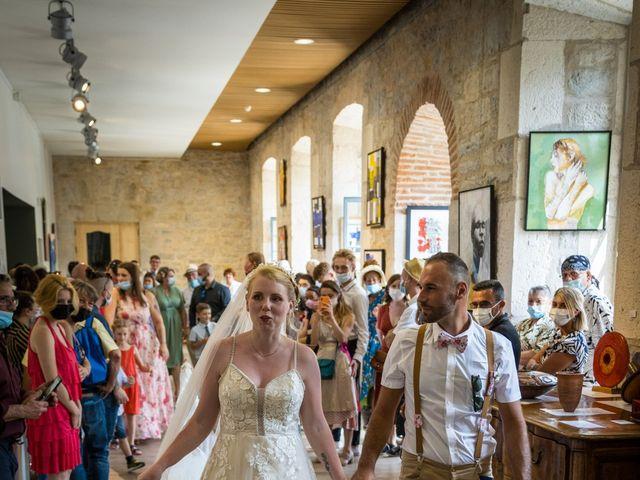 Le mariage de Will et Nina à Saint-Antonin-Noble-Val, Tarn-et-Garonne 17
