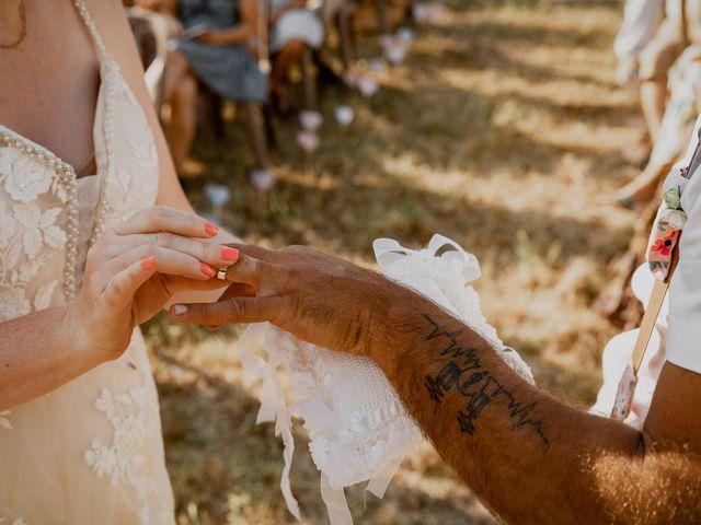 Le mariage de Will et Nina à Saint-Antonin-Noble-Val, Tarn-et-Garonne 33