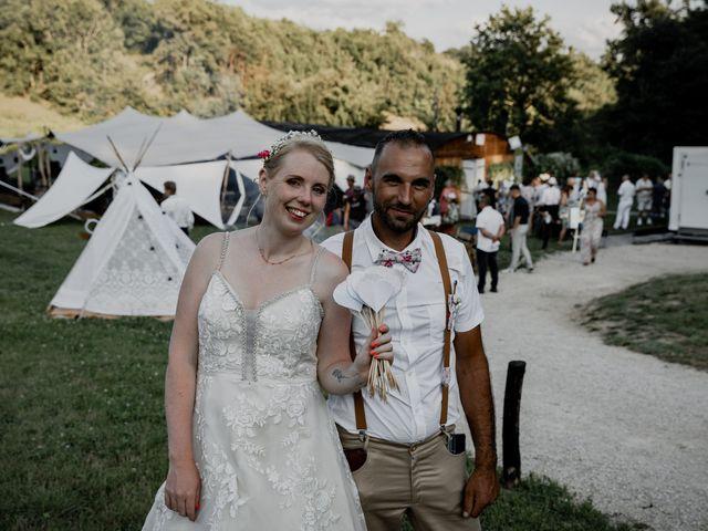 Le mariage de Will et Nina à Saint-Antonin-Noble-Val, Tarn-et-Garonne 46