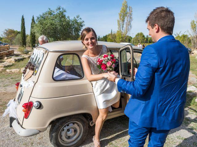 Le mariage de Robin et Laura à Servian, Hérault 38
